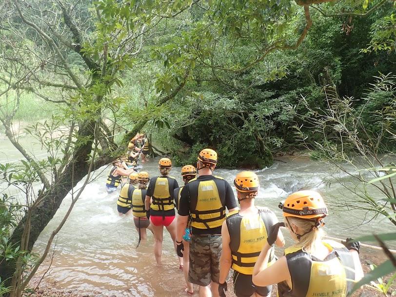 Flod Adventure Phong Nha Vietnam Rejseblog Backpacking Asien