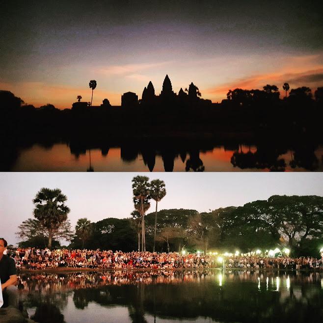 Angkor Wat Siem Reap Backpacking Travel Cambodja