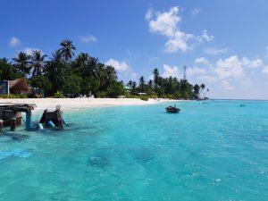Den øde ø Fulidhoo og turismetanker